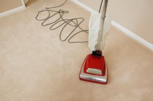 Sauberer Teppichboden